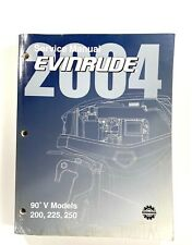 2004 Johnson Service Manual SR DI 200 225 250 HP 90° V Outboard Motor 5005649