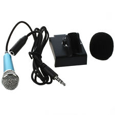 Mini hand microphone for voice recording, Internet chat on smartphone F4J6