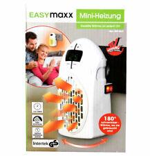 Elektrische Mini-Heizung Weiß Timer Digitalanzeiger EASYMAXX Fernbedienung NEU *