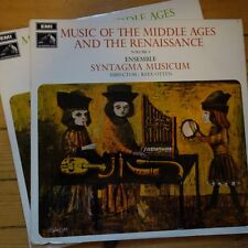 HQS 1195/96 Music of The Middle Ages & Renaissance / Syntagma Musicum / Otten...