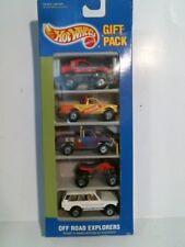 1991 Hot Wheels 5 Pack Off Road Explorers (White Range Rover) - 0