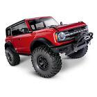 Traxxas 92076-4 - TRX-4 2021 Ford Bronco 1/10 4x4 Crawler RTR, Red