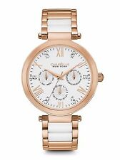 CARAVELLE NEW YORK BY BULOVA WOMEN'S CHRONOGRAPH ROSE-TONE WATCH 44N108