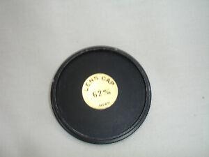 62mm metal front lens cap , Japan, #4127