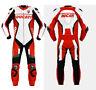 Ducati Motociclo 1Pc Pelle Tuta Corsa Ciclista Sport MotoGP Armatura Protettiva