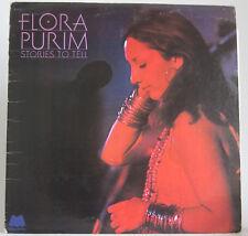 Flora Purim- Stories To Tell Album LP 1974 US Pressing Plant Santa Maria M-9058