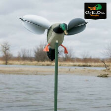 MOJO OUTDOORS WIND DUCK DRAKE MALLARD WIND-POWERED SPINNING-WING DECOY NEW!