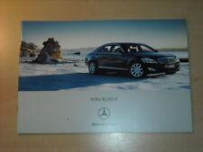 25335) Mercedes S-Klasse W221 Polen Prospekt 2005