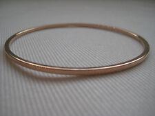 Gold Slave Armreif Rose 9 Karat 2mm