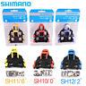 Shimano SM-SH10/11/12 Cleat Set 0/2/6° Float SPD-SL Road Bike Pedal Cleats NEW