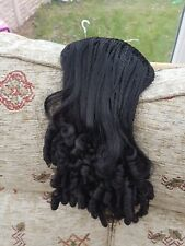 hair extensions in black colour