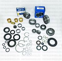 Lambretta LI SX TV GP Complete Bearing Oil Seal Circlip Kit 125 150 175 185 cc