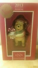 Lenox 2013 Holiday Annual Peppermint From Pooh Ornament Nib