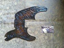 Custom Tooled Leather Pickguard Fender Squier Classic Vibe 50's Precision Bass