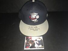 Drew Waters Atlanta Braves Autographed Signed 2016 Game Used Hat Cap 6
