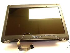 "Toshiba Satellite L455D 15.6"" LCD LED Complete Screen Assembly W/Hinges & Cables"