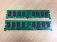 DDR 2 4GB (2X 2GB)  PC2-6400 DESKTOP RAM MIXED STICKS