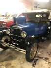 1927 Ford Model T roadster 1927 Ford Model T Convertible Blue RWD Manual roadster