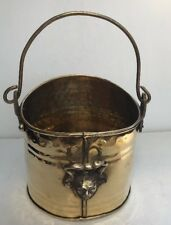 Small Brass Vintage Coal Scuttle