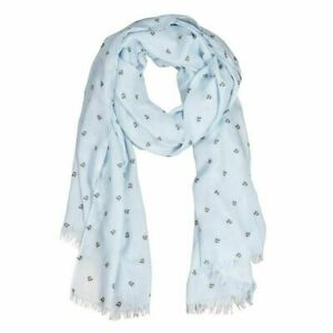 Wrendale Designs Bee Design Scarf with Gift Bag - Clothing Gift Ideas for Women