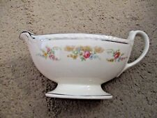 Georgian Gravy Boat, Homer Laughlin in Eggshell