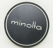 Minolta Genuine Original 55mm Vintage Front Lens Cap