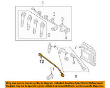 KIA OEM 06-11 Rio-Engine Crankshaft Crank Position Sensor CPS 3918026900