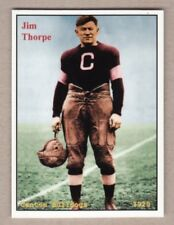 JIM THORPE, CANTON BULLDOGS FOOTBALL PLAYER NATIVE AMERICAN RARE NYC CAB CARD