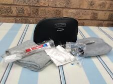 2x Complimentary British Caledonian First Class Blue Wash Bags And Amenity Kits A Great Variety Of Goods Airlines Transportation Collectables