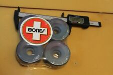 Bones Sticker+ Blank Soft Cruiser 62mm 1980's W1 Vintage Set 4 Skateboard Wheels