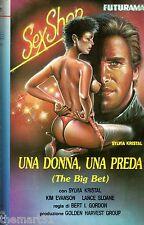 Una Donna , una Preda  (1986) VHS Futurama Video 1a Ed. - Kim Evanson Kristal