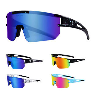 Polarized Cycling Sunglasses Road Bicycle Riding Mountain Bike Goggles Eyewear