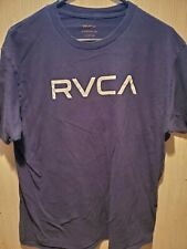 RVCA The Balance of Opposites Graphic Tee T Shirt Ruca Blue