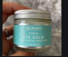 Laguna Herbals Herbal Eye Balm Tone Soften Moisturize Full Size 2 Oz New