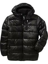 OLD NAVY Boys Hooded Frost Free Jackets Size XS(5) BLACK