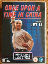 Jet Li ONCE UPON A TIME IN CHINA ~ HKL Hong Kong Legends | UK DVD