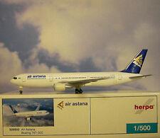 Herpa Wings 1 500 Boeing 767-300 air Astana P4-kca 509503 Modellairport500