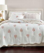 Martha Stewart Embroidered Floret Reversible Cotton 8-Pc Comforter Set - KING