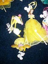 Disney Belle Shoe - Mouse Hat - Gown Figurine Ornament