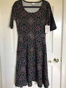 LuLaRoe Nicole Dress Size Large