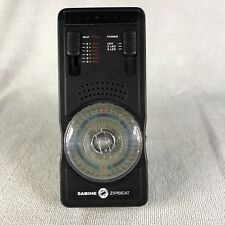 Sabine Zipbeat Quartz Metronome with Stand Battery Powered 006P 9V