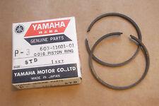 YAMAHA P35  P 35  1960s OUTBOARD GENUINE PISTON RING SET (STD) - # 603-11601-01
