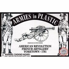 Armies in Plastic French 12-pounder Artillery 1781 American Revolution 54mm 1/32