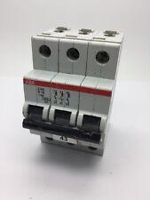 ABB S203 B16 16Amp Type B Triple Pole MCB 6kA Circuit Breaker 6000kA