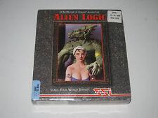 Alien Logic (PC, IBM, DOS, CD, 1994) SEALED, Rare Vintage Game