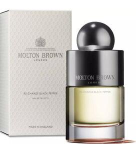 MOLTON BROWN Re-charge Black Pepper Eau De Toilette EDT (50 ml) BN Sealed