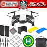 DJI Tello Quadcopter by Ryze Tech with Snap-On Covers 2 Battery Starter Bundle