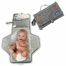 Portable Changing Pad - Waterproof Baby Changing Mat for Mom and Dad