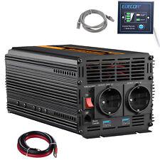 Inversor de potencia de 2000W 4000W Convertidor de 240V de CC a 12V de CA Remoto softstart 2.1A USB