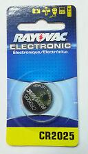 Cr2025 Rayovac General Purpose Battery - Kecr2025-1 - Lithium - 3 V Dc - 1